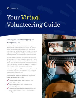Your Virtual Volunteering Guide