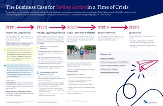 The Business Case for Taking Action in a Time of Crisis