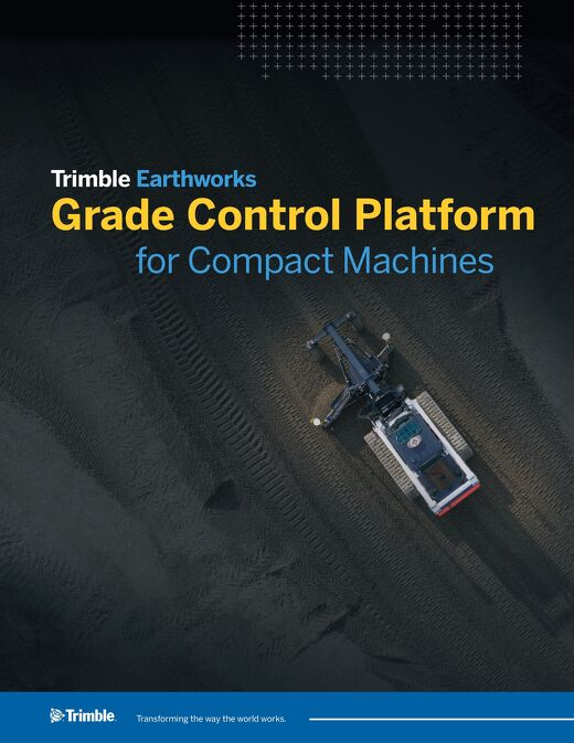 Trimble Earthworks for Compact Machines Datasheet - English