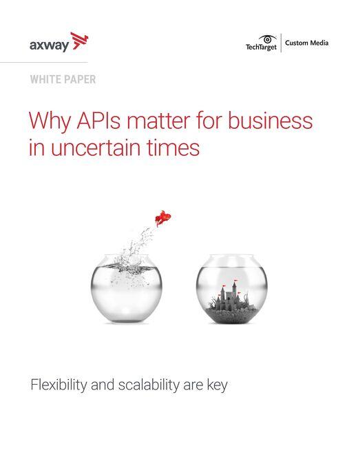 Why APIs Matter