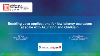 Azul and Gridgain Benchmarks Presentation