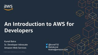 An Introduction to AWS for Developers