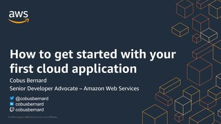 Getting Started with Your First Cloud Application