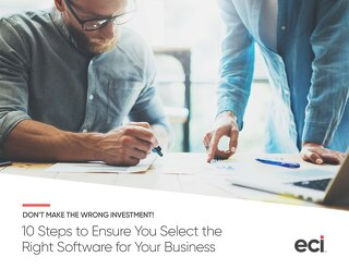 10 Steps to Ensure You Select the Right Software for Your Business