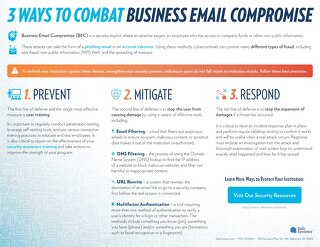 3 Ways to Combat Business Email Compromise