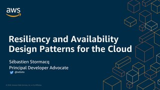 Resiliency and Availability Design Patterns for the Cloud - Slides