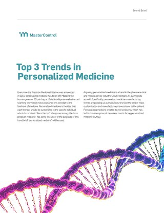 Top 3 Trends in Personalized Medicine