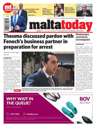 MALTATODAY 21 June 2020