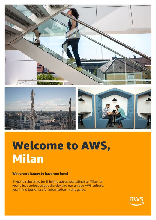 Welcome to AWS, Milan