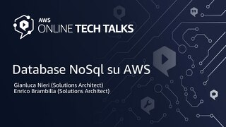 NoSQL database su AWS