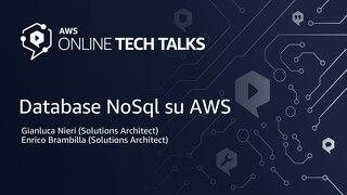 NoSQL database su AWS