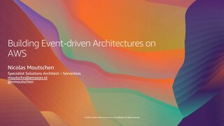 AWS webinar_Event-Driven Architectures_2020June