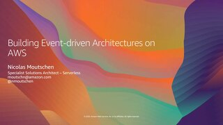 AWS webinar June 23_Event-Driven Architectures_2020June