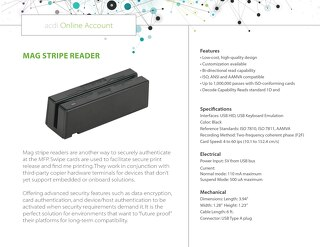 ACDI Mag Strip Reader
