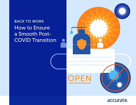 eBook: Back to Work - Ensure a Smooth Post- COVID Transition