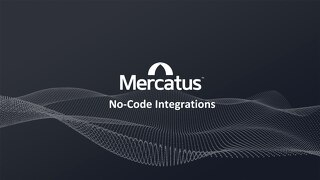 Mercatus No-Code Integrations
