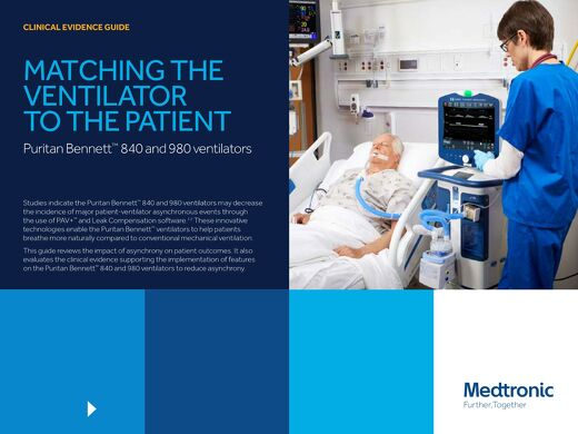 CLINICAL EVIDENCE: GUIDE MATCHING THE VENTILATOR TO THE PATIENT