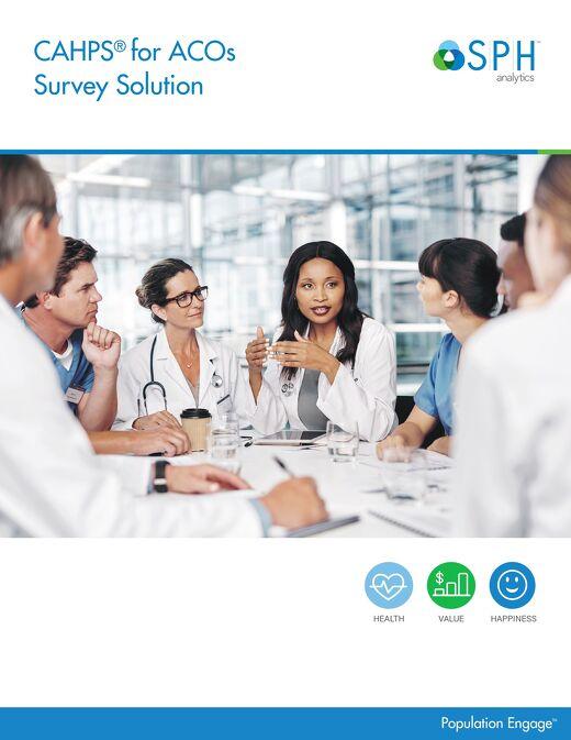 Brochure - ACO CAHPS Survey Solution