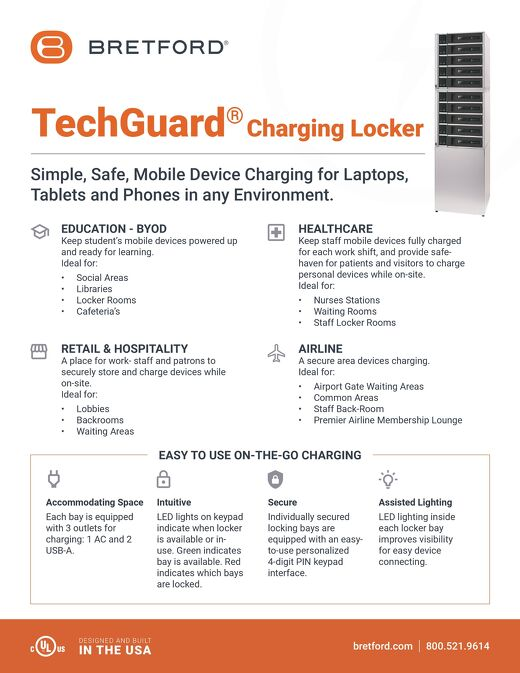TechGuard Charging Locker -Environment Usecase-Channel