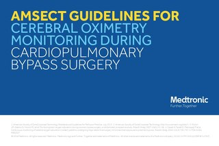 Info Sheet: AmSECT Guidelines for Cerebral Oximetry