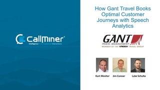Gant Travel's Speech Analytics Journey to Improved CX