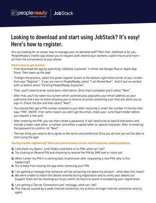 JobStack How to Download Guide