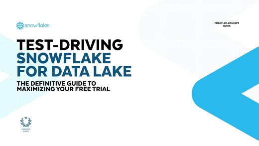 Test-Driving Snowflake for Data Lake