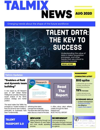 Management Consulting Newsletter (August)