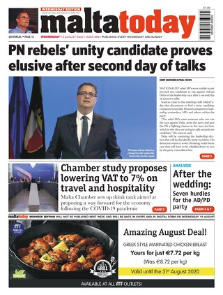 MaltaToday MIDWEEK 5 August 2020