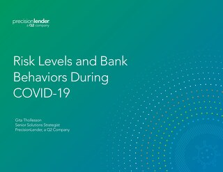 Risk Levels and Bank Behaviors During COVID-19