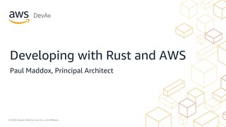 Developing with Rust and AWS slides