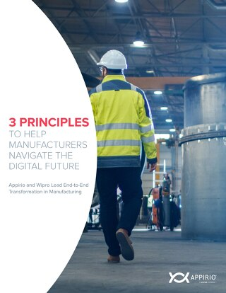 3 Principles To Help MFG Navigate the Digital Future