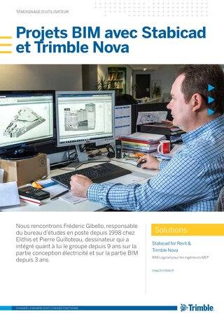 Projets BIM avec Stabicad et Trimble Nova