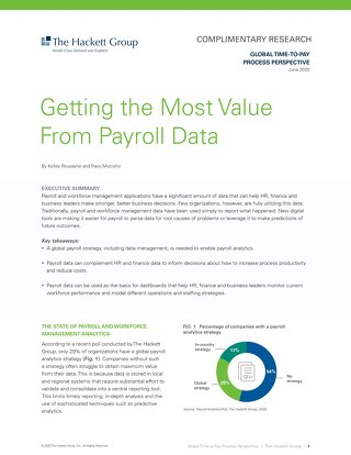 Partner perspective: Getting the most value from payroll data