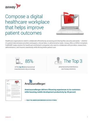 Componha um ambiente de trabalho digital focado em healthcare