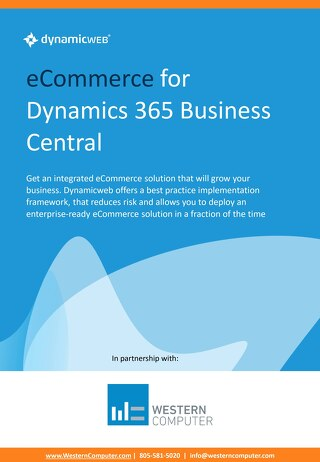 Dynamicweb Ecommerce for D365 Business Central