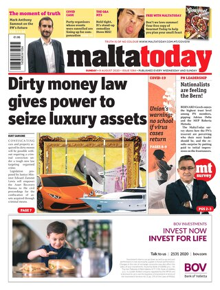 MALTATODAY 9 August 2020