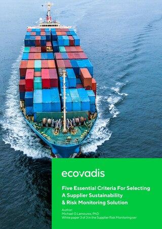Cinco Criterios Esenciales Para Seleccionar Una Solución de Monitoreo de Riesgos y Sostenibilidad del Socio Comercial