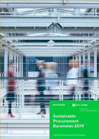 Barómetro de compras sostenibles de 2019: De la conformidad al desempeño