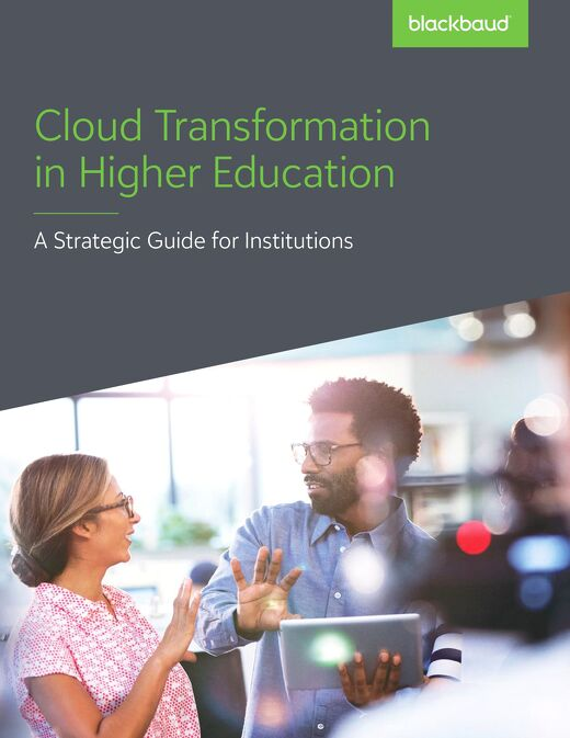 White Paper:  Cloud Transformation in Higher Education