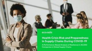 Rischio di crisi sanitaria e livello di preparazione nelle catene di approvvigionamento durante il COVID-19