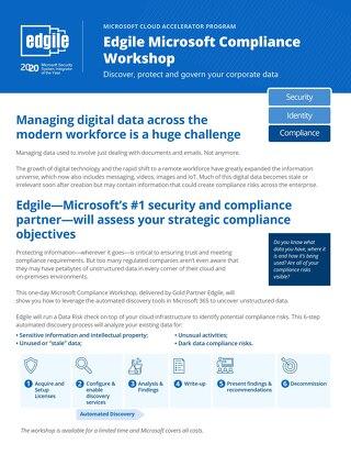 Edgile Microsoft Compliance Workshop