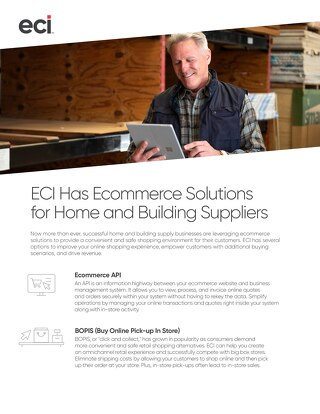 Ecommerce Flyer - Home and Building Supply Retailers