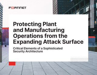 Protecting Plant Operations from the Expanding Attack Surface