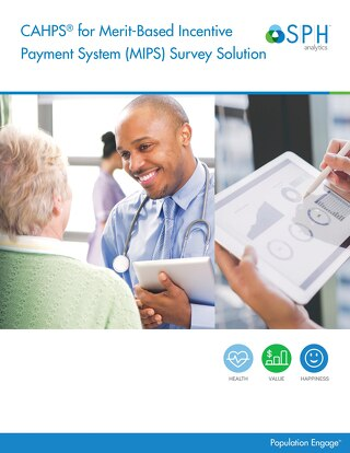 Brochure - CAHPS for MIPS Survey Solution