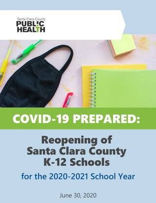 Reopening of Santa Clara County K12 Schools