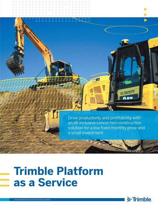 Trimble Platform as a Service (TPaaS) Brochure - English