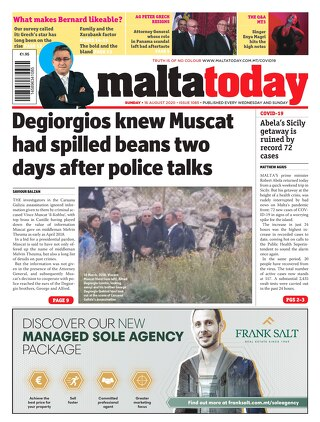 MaltaToday 16 August 2020