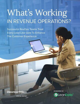 What's Working in Revenue Operations?