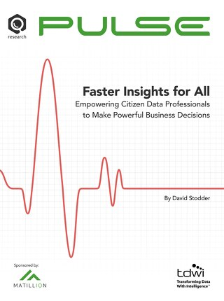 Faster Insights for All: Empowering Citizen Data Professionals to Make Powerful Business Decisions